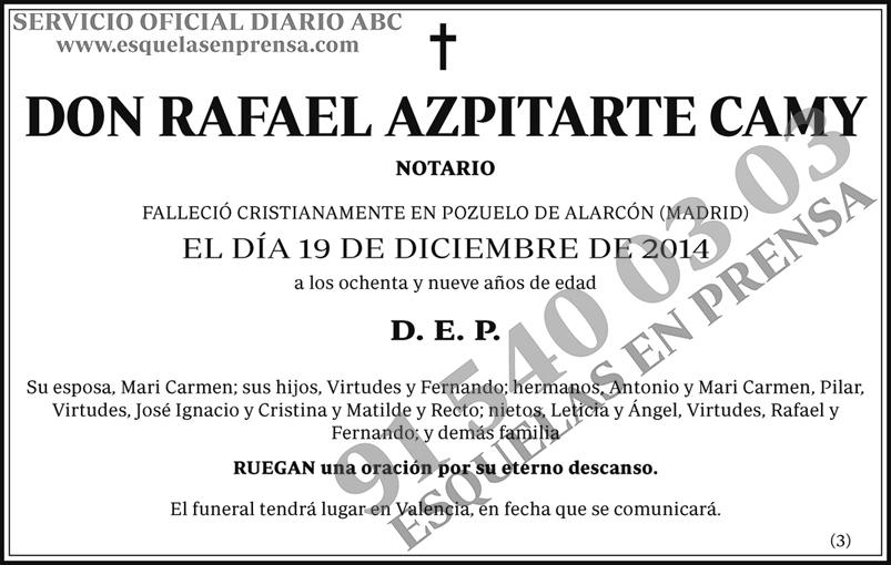 Rafael Azpitarte Camy